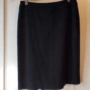 "Sunny Leigh black ""Deco Diva"" dress skirt size 8P"